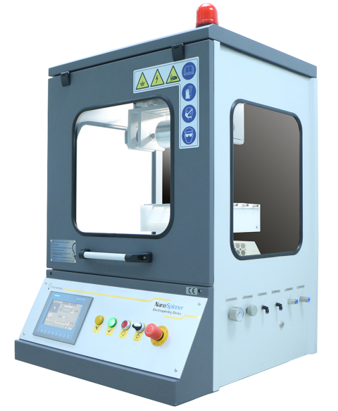 NS24 multinozzle electrospinning device