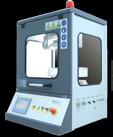 Ne300 multinozzle electrospinning device